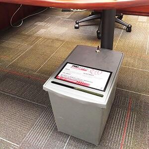 Personal Desk Bin