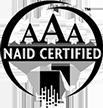 AAA Naid Certified logo