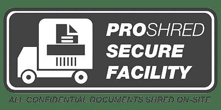 PROSHRED® Security Facility - Black