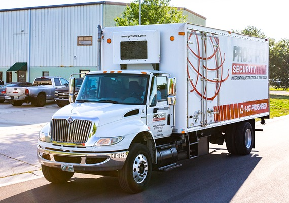 PROSHRED® Truck - On-Site Shredding