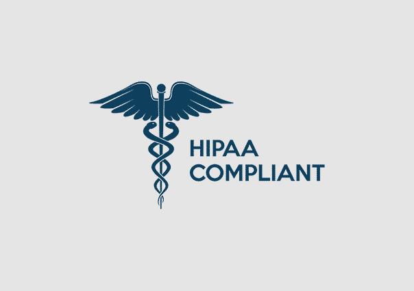 HIPAA Compliant logo.