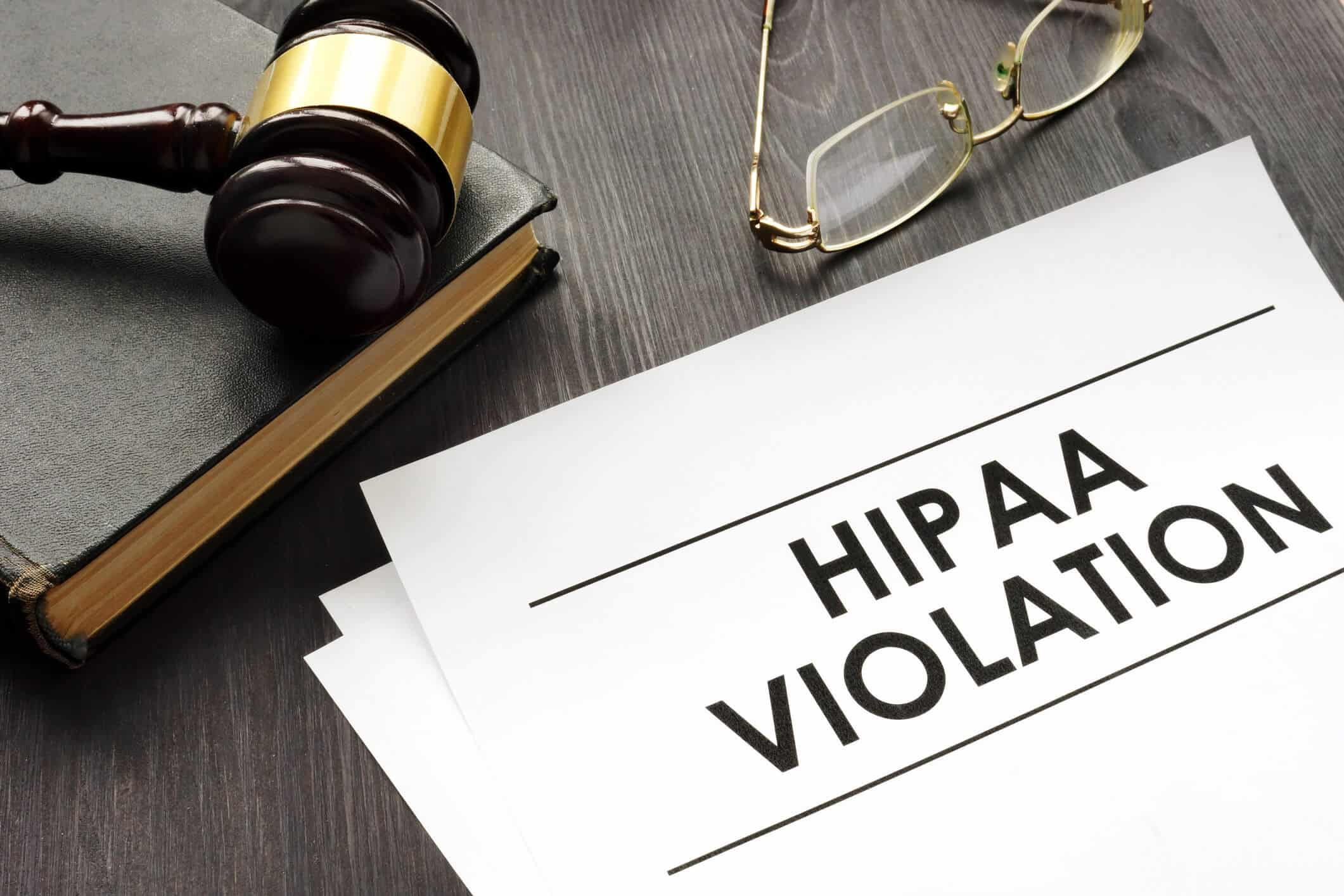 HIPAA Violation document.