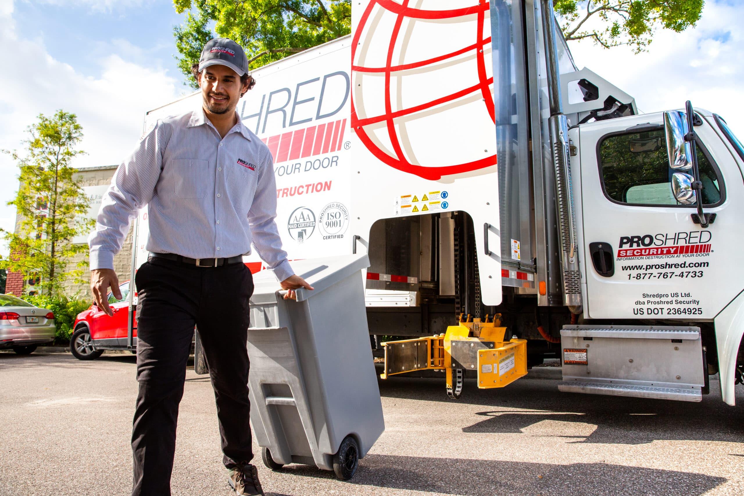 Commercial Shredding Services